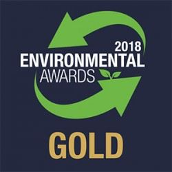 Gold award for Thrace Group in the Environmental Awards 2018